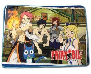 Fairy Tail Group Fleece Throw Blanket