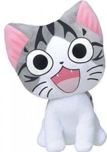 Chii's Sweet Home 6'' Eyes Open Sitting Cat Plush