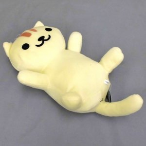 Neko Atsume 10'' Apricot Rolled Over Prize Plush