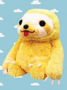 Namakemono no Mikke 15'' Blond Sloth Amuse Prize Plush