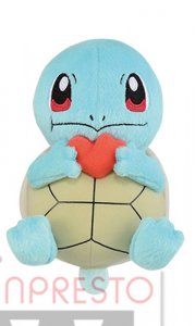 Pokemon 6'' Squirtle Eating Berry Banpresto Prize Plush