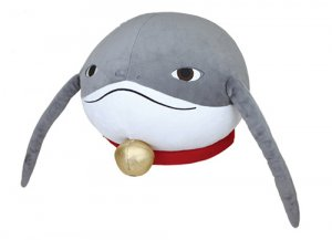 Final Fantasy XIV Namazu Manju Squinting Taito Prize Plush