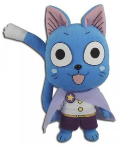 Fairy Tail 8'' Happy Celestial Ver. Plush Doll
