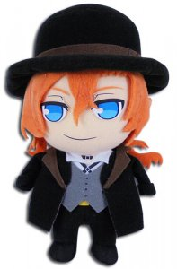 Bungo Stray Dogs 8'' Chuya Plush Doll