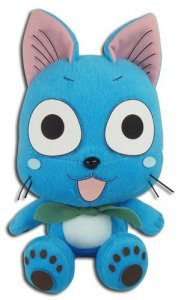 Fairy Tail 7'' Happy Wearing Scarf Plush