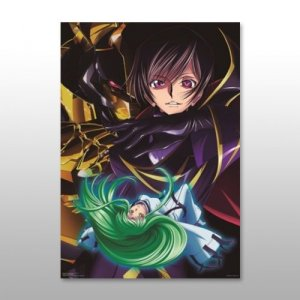 Code Geass Akito the Exiled Lelouch, C.C.  Ichiban Kuji K Prize Poster