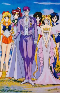 Sailor Moon Group Full Color Poster