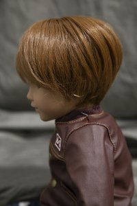 Doll Wig Yuki - Auburn Brown