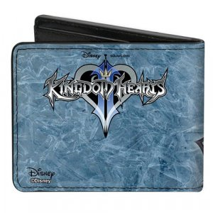 Kingdom Hearts II Final Form Sora Buckle Down Bifold Wallet