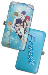 Free - Iwatobi Swim Club Group Hinge Checkbook Wallet