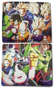 Dragonball Z Group Fighter Z Bifold Wallet