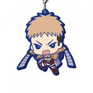 Attack on Titan Jean Rubber Gashapon Phone Strap